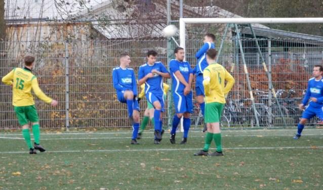 SV Capelle won zaterdag in Den Bosch met 0-7 van BLC. Foto: MW Fotografie