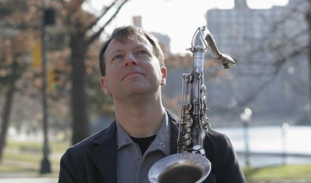 De wereldberoemde saxofonist Chris Potter is dit jaar de publiekstrekker. (Foto: Claire Stefani)
