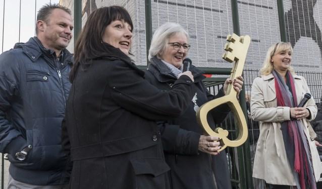 De burgemeester opende officieel de scholen (Foto: PR)