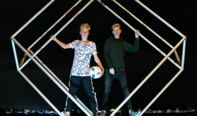 Bailey en Björn zijn door het project nog betere vrienden geworden. (Foto: Privé)