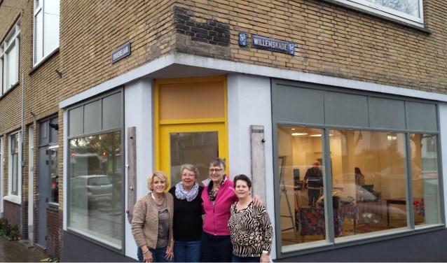 In het pand waar vroeger de Kleine Ambassade huisde, zit vanaf zaterdag de Voedselbank Schiedam.