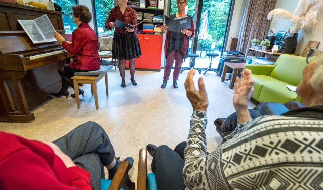 CKC Klein Klassiek organiseert intieme concerten in instellingen en verzorgingshuizen