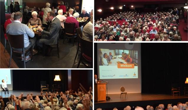 Tijdens het seniorenevenement genoten 420 gasten van een dag vol activiteiten.