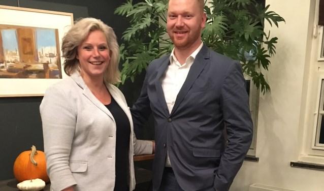 Maureen Sluiter en Robbert Hummelink.