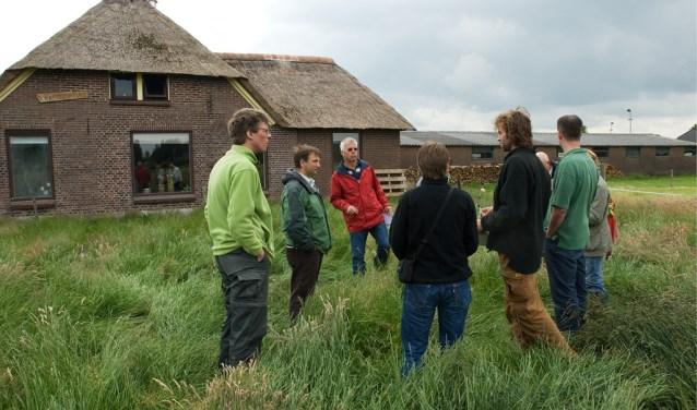 Een kijkje op het erf. Voor inwoners van De Glind en Achterveld start in januari de cursus 'Alles van het landschap De Glind en Achterveld'.