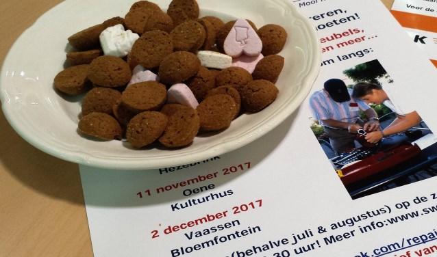 Tijdens het Repair Café op zaterdag 2 december in de Bloemfontein aan de Wetstraat 12 in Vaassen kunnen bezoekers informatie krijgen over het maken van kaarten.