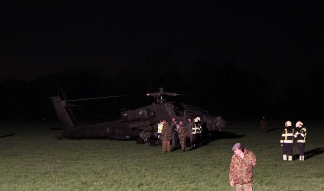 Apache geland in weiland Zoelmond.