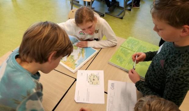 GEO Battle van leerlingen van basisschool De Peppels op Metameer.