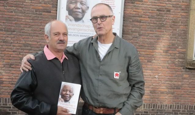 Christo Brand samen met organisator Bert van den Kamp. (Foto: Theo van Dam)