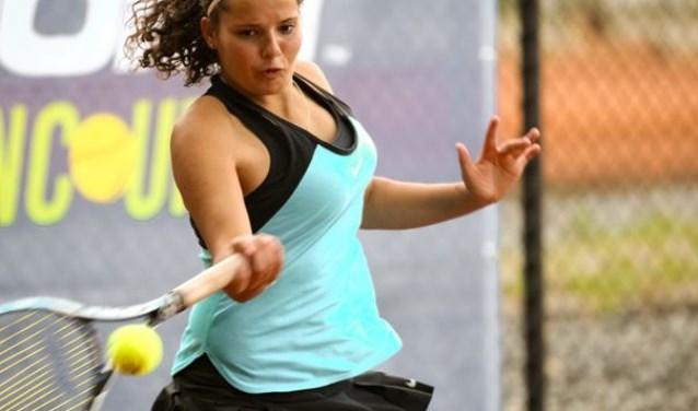 'Ooit hoop ik echt op Wimbledon te staan', aldus Tess Demin.
