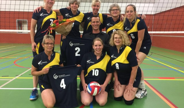 Nieuwe sponsor Limes Volleybal