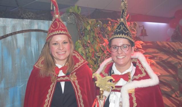 Metwaldus de 55e Anouk Roes met haar adjudante Sandra van Lent