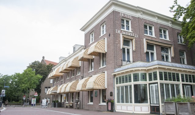 Hotel De Wereld. (foto: Johan Mulder)