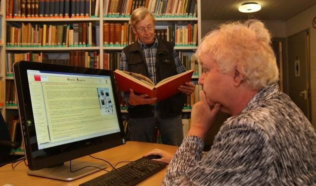 Leny van Lieshout en Martien Koolen (Foto: Marco van den Broek).