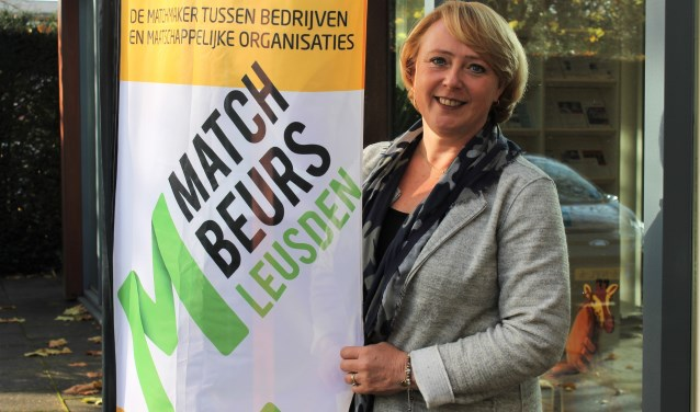 Mariëtte Druyff is erg benieuwd naar alle inspirerende matches die vrijdag 17 november gemaakt gaan worden. (Foto: Quirine van Mourik)