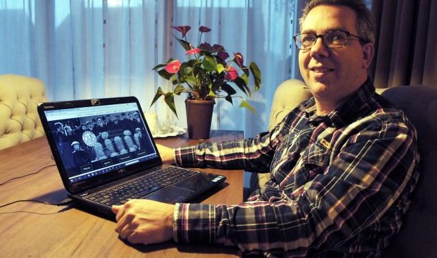 """Penningmeester Martin van den Brink: """"We zijn een bloeiende vereniging met veel leden."""""""