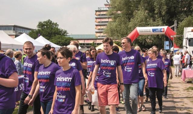 De SamenLoop voor Hoop is een feest van hoop en leven in Park de Wezenlanden. (foto: Ab Kasper)