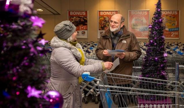 Kerst in Zwolle zoekt voor verschillende taken nog vrijwilligers.(foto: Peter van der Lingen)