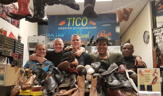 Tico en zijn team staan klaar voor de mensen van de voedselbank