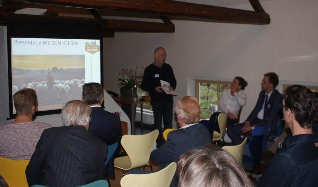 Secretaris Jos Melenhorst presenteerde vorige week op netwerkbijeenkomst de toekomstige plannen van Wij zijn Heerde om de vrijetijdseconomie verder te versterken.