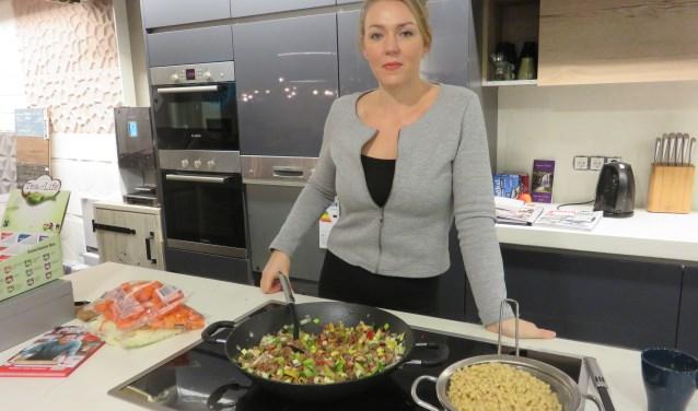 """Anna van Beest: """"Lekker en toch verantwoord eten is geen utopie"""". FOTO: John van Beringen"""