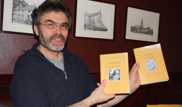 Rob Barnhoorn presenteert 'Maanlicht op het Laar' en 'Toonder vertaald', maandag zijn ze verkrijgbaar in de boekhandel.