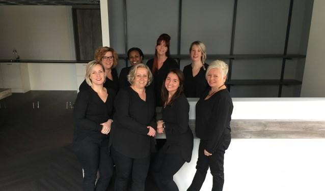 Het team van Hairstyling Sylvie.