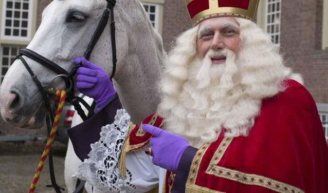 Gaat het Sint lukken om te kunnen logeren in het Slot Zeist? FOTO: Sauerfield's Photo's