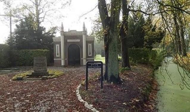 De ingang van de Joodse begraafplaats. (foto: pr)