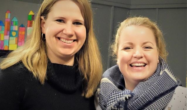 Lorraine en Carolien. FOTO: Manon Roosendaal