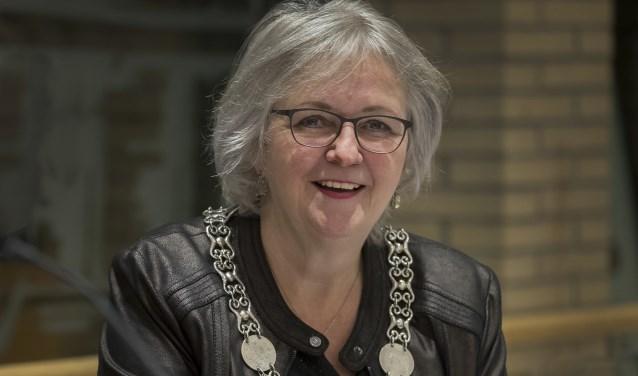 Burgemeester Anny Attema. (Foto: Gem. Ridderkerk)