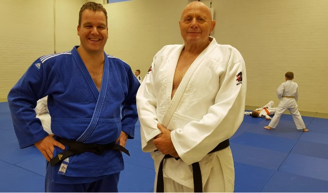 Roy Westheim en Antoon Verblackt. FOTO: Angelie Kruijsen.