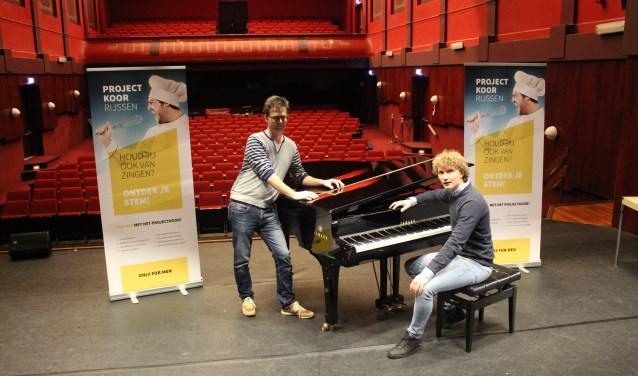 Het nieuwe project staat onder leiding van een professionele dirigent en wordt afgesloten met een concert.