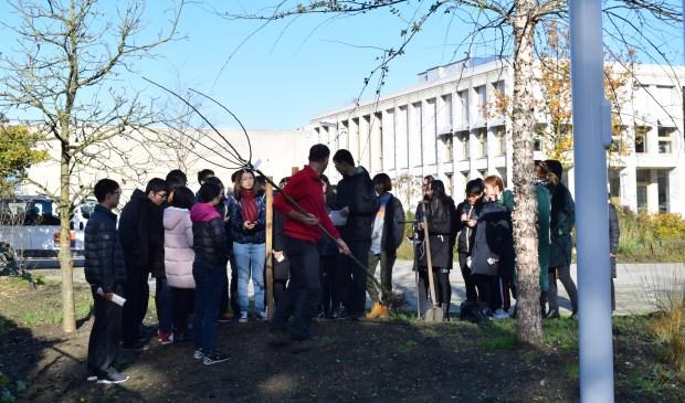 Chinese studenten leren bij Aeres MBO Velp