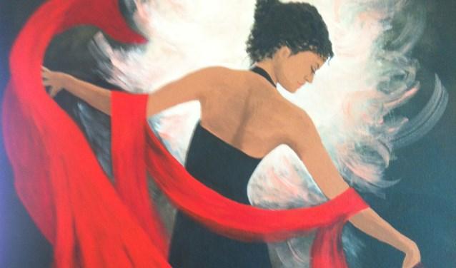 Schilderij Magriet Lems