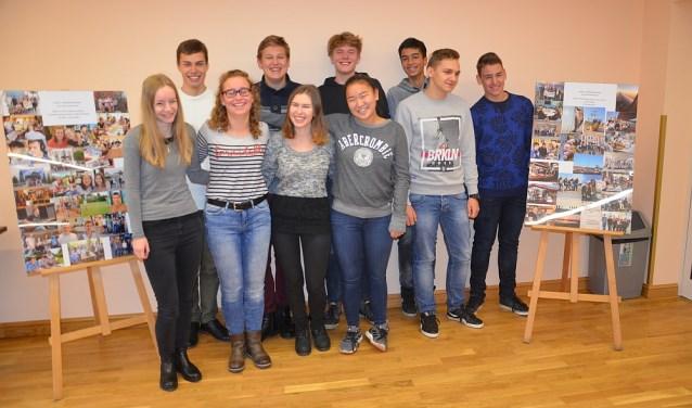 De leerlingen genieten van hun tweede bezoek aan Naklo