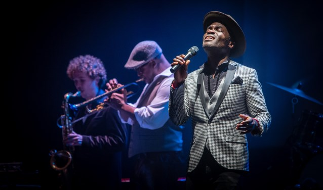 Plaatje van de voorstelling I'm a Soulman. FOTO: Eric van Nieuwland.