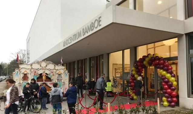 Het gebouw is al sinds begin dit schooljaar in gebruik. Verleden week werd het officieel geopend.