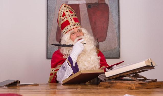 Sinterklaas heeft weer Museum 't Oude Slot uitgekozen om er te logeren. FOTO: Museum 't Oude Slot.