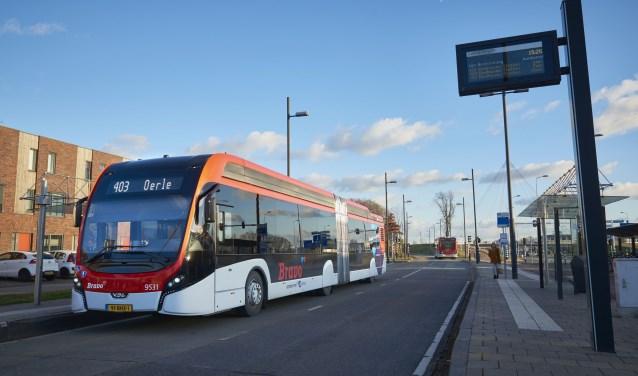 De dienstregeling van de bussen wordt gewijzigd per zondag 10 december. FOTO: Hermes.