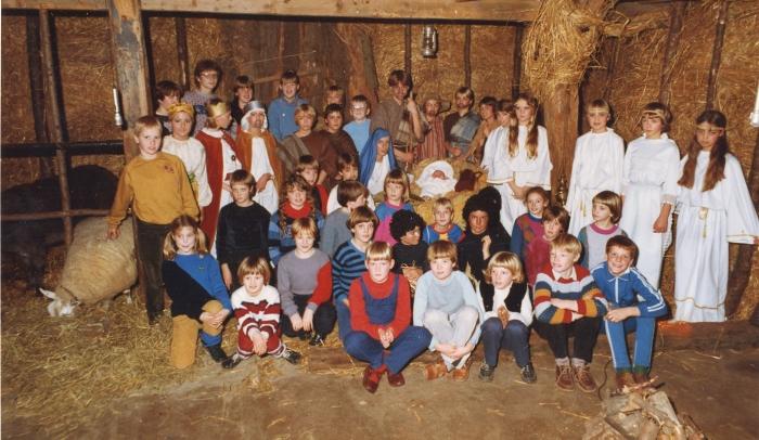 MPG's Levende Kerststal ruim 20 jaar geleden...