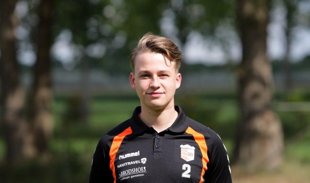 Leon Nijkamp is als middenvelder bijna op zijn oude niveau na zijn blessure, hij maakte tegen Achilles de 5-2.