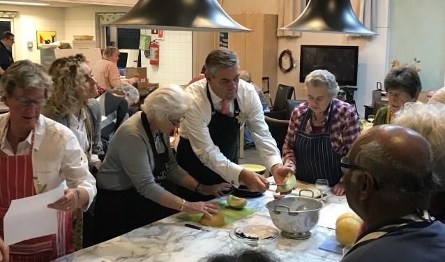 Op dinsdag 21 november vond het eerste Gouden Vijver Diner plaats. FOTO: iszdebrug