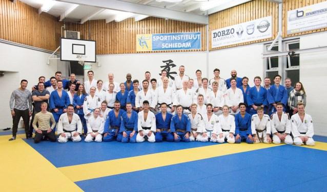 Reünie Arthur den Hamer 30 jaar judoleraar