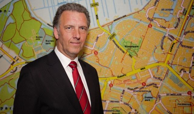 """Rob Wessels: """"Ik had me graag nog vier jaar ingezet voor Zoetermeer."""" Foto: Fred Roland"""