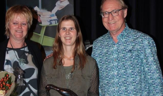 Michelle van de Berg won voor de vijfde keer het Groot Dictee Sint Anthonis.
