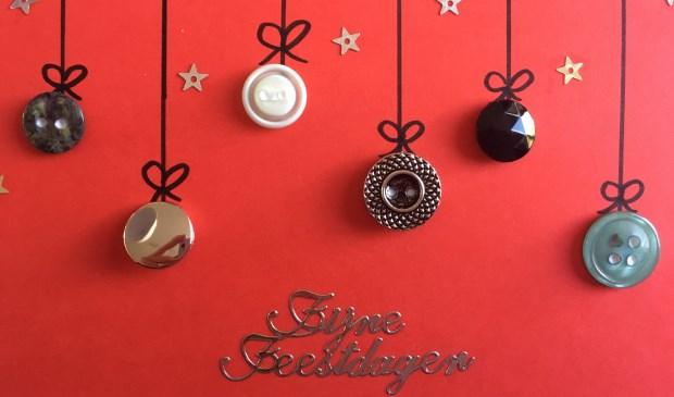 Activiteit Kerstkaarten Maken Met Knopen Ermelo S Weekblad