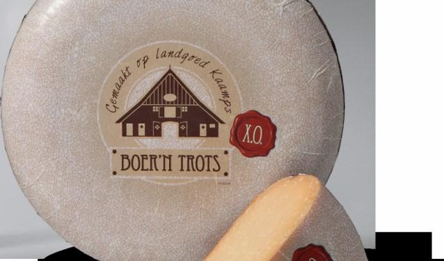 Nog niet eens zo lang op de markt, maar de Boer'n Trots honing-geitenkaas en XO van Kaamps zijn direct al bekroond.