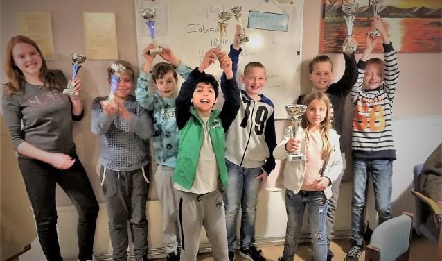 Dit zijn de winnaars van S.V. De Roos.