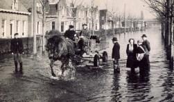 Het Sliedrechts Museum aan de Kerkbuurt in Sliedrecht wil begin 2018 een expositie over de Watersnoodramp van 1953 houden. (Foto: Privé)